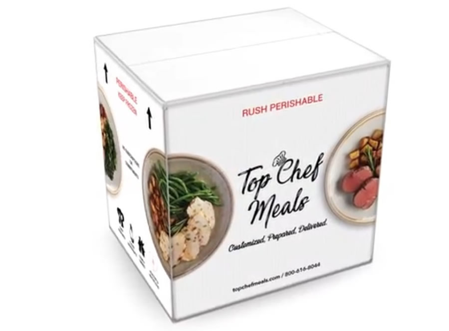 Top Chef Meals Meal Box